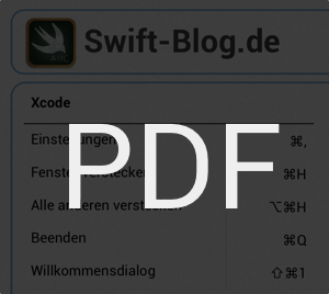Xcode Shortcuts PDF Download