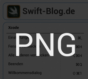 Xcode Shortcuts 6.1 PNG Download