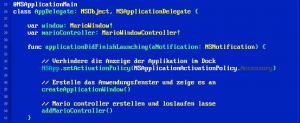 Retro Borlan TurboC++ Xcode Theme