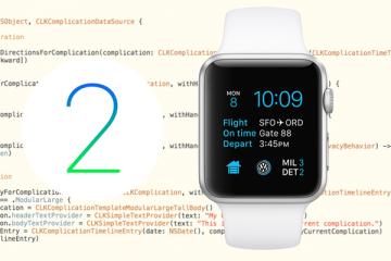 Eigene Complications für die Apple Watch entwickeln