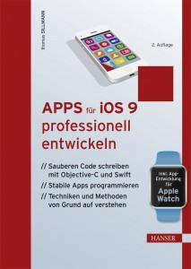 Cover von Apps für iOS 9 professionell entwickeln